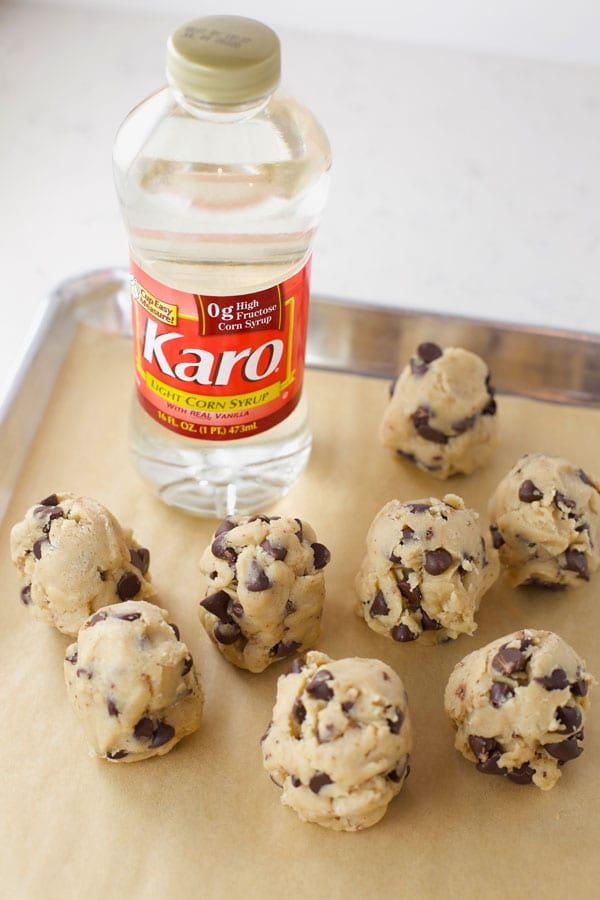 Cookie dough with Karo syrup
