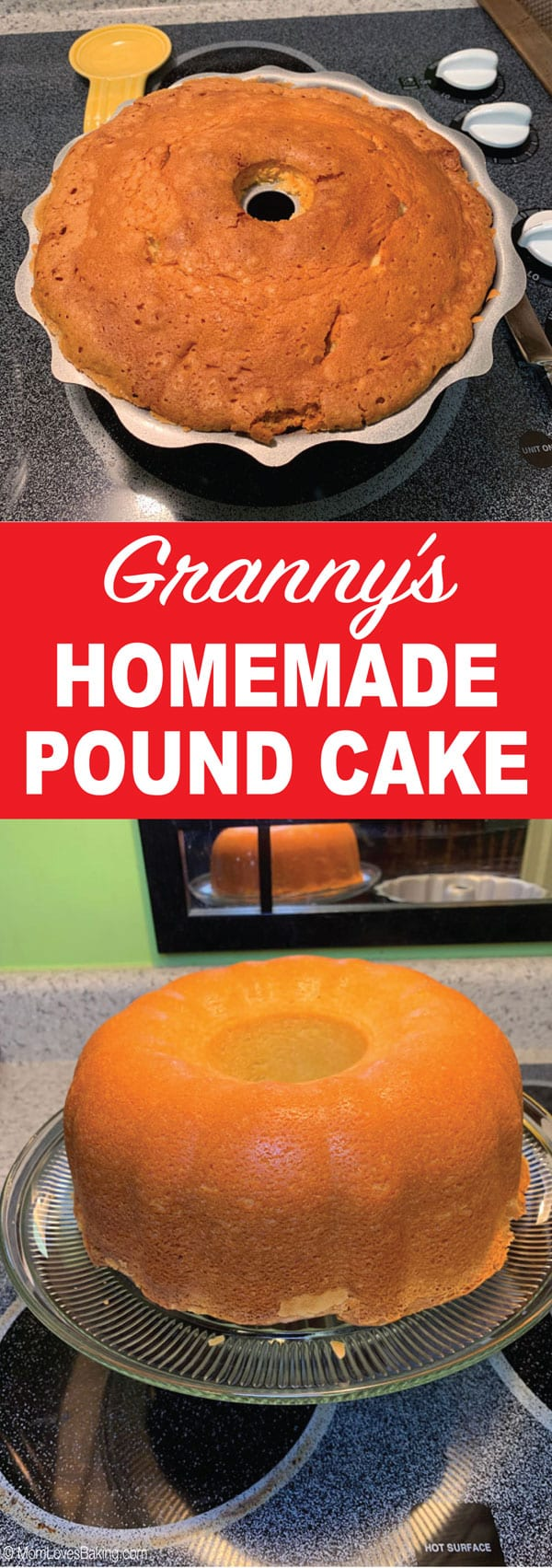 Granny's famous pound cake recipe