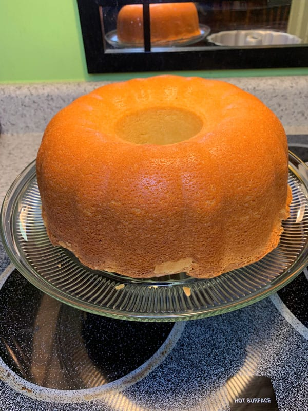 Granny's southern homemade pound cake