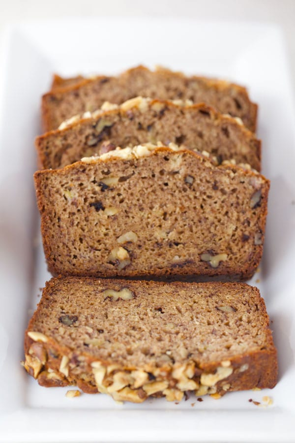 The best slice of banana bread