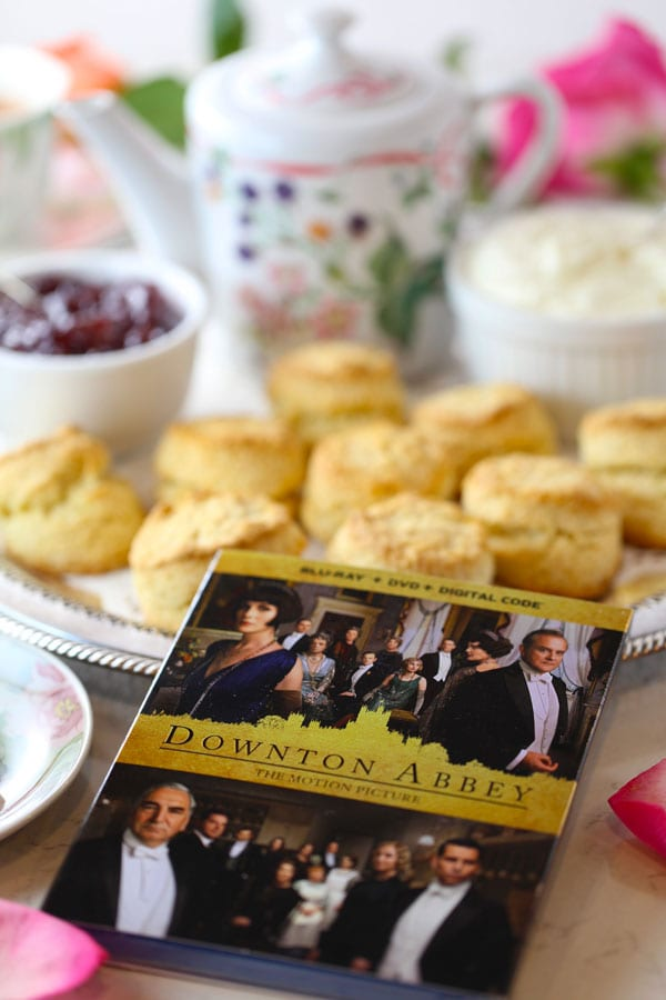 Downton abbey high tea scones