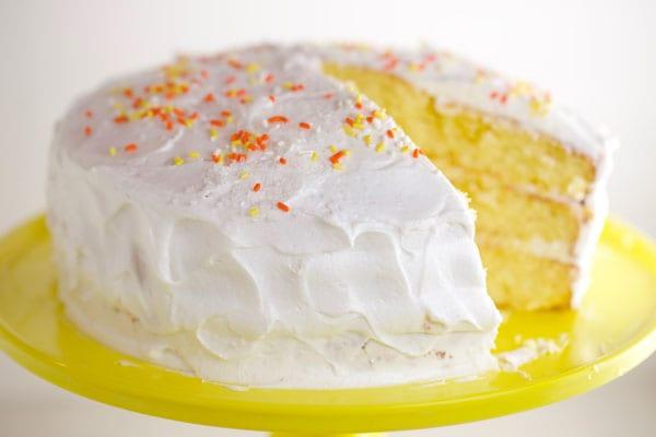 Best lemon cake from scratch