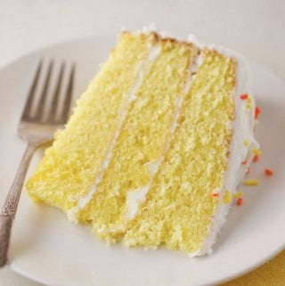 Really delicious lemon cake