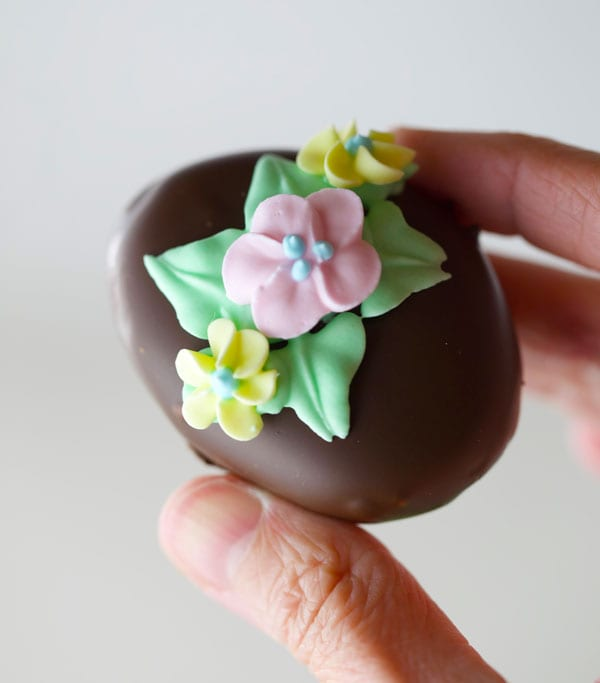Copycat Reese's Easter Eggs