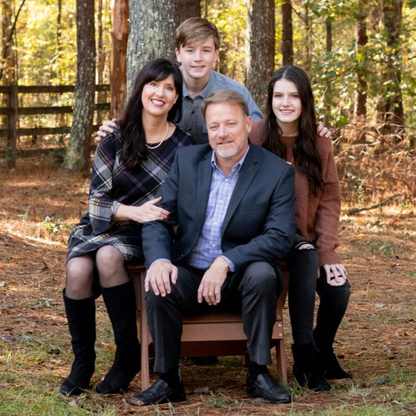 Family photo for blog