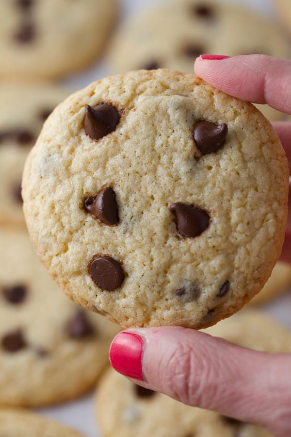 Tollhouse chocolate chip cookies with no gluten