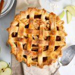 Best ever apple pie lattice crust with braid