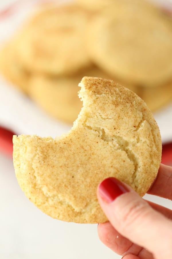 Gluten Free Snickerdoodle cookies