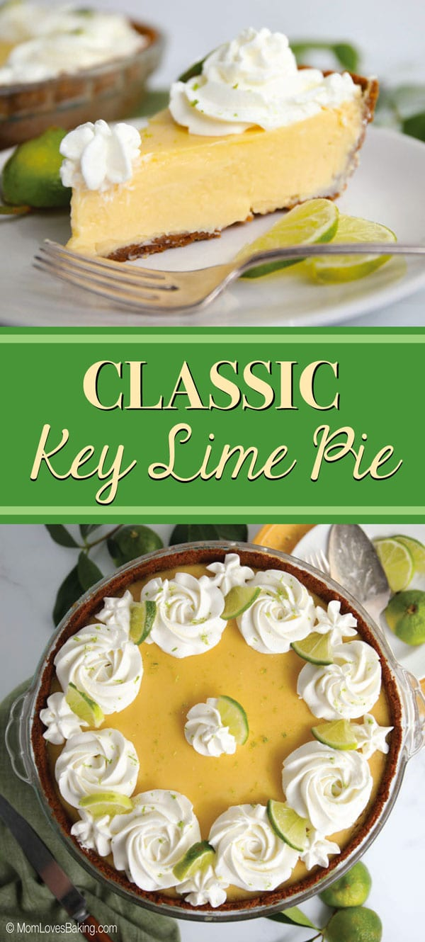 Classic Key Lime Pie with Whipped Cream