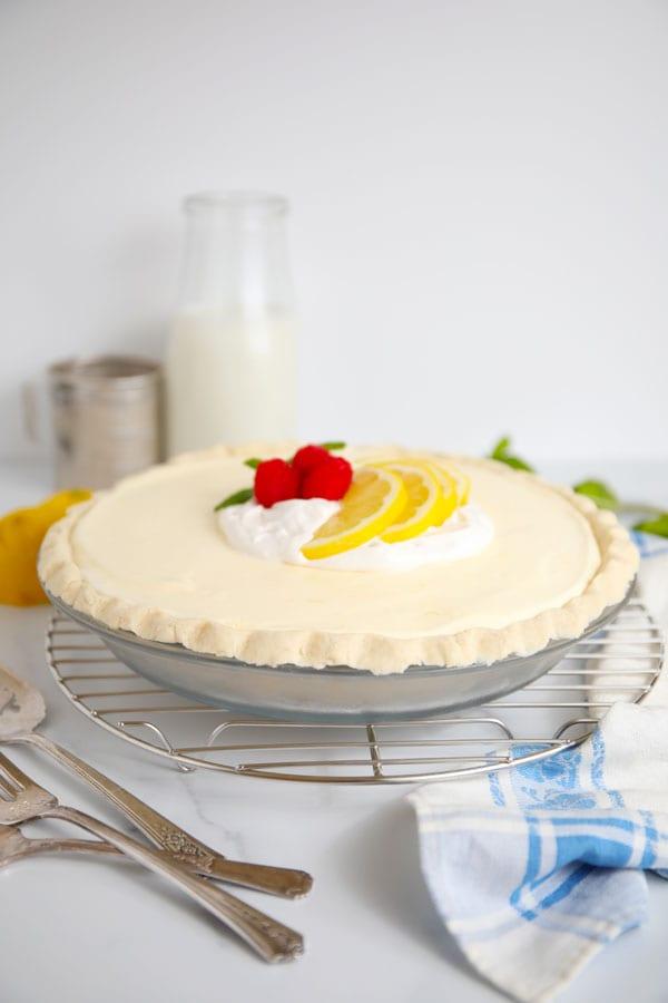 Lemon Chiffon Pie gluten free