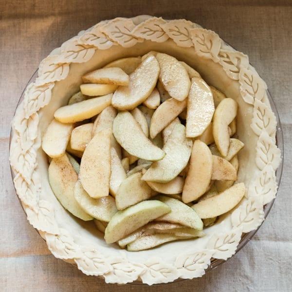 Old fashioned Dutch apple pie recipe