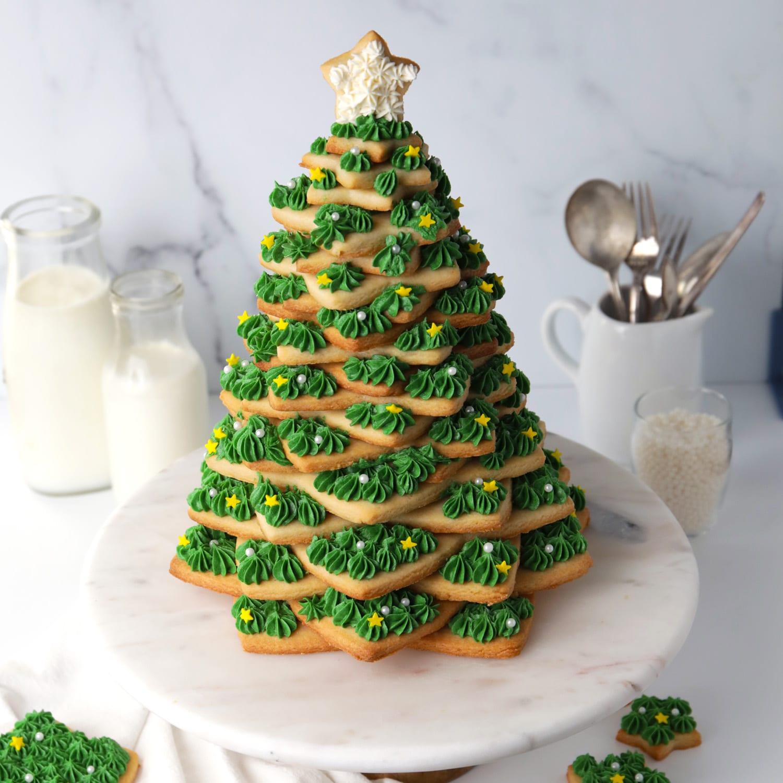 Christmas Cookie Tree Recipe