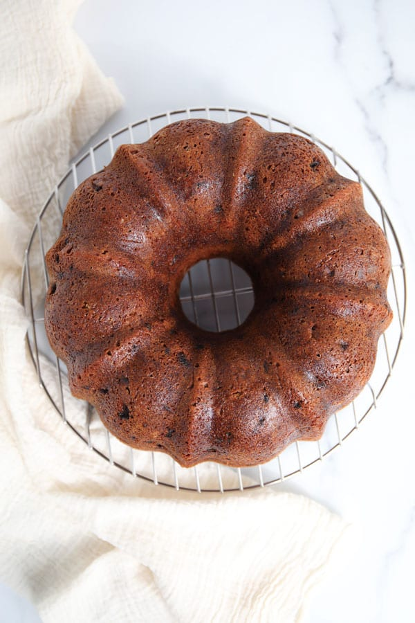 Grandma's vintage spice bundt cake recipe