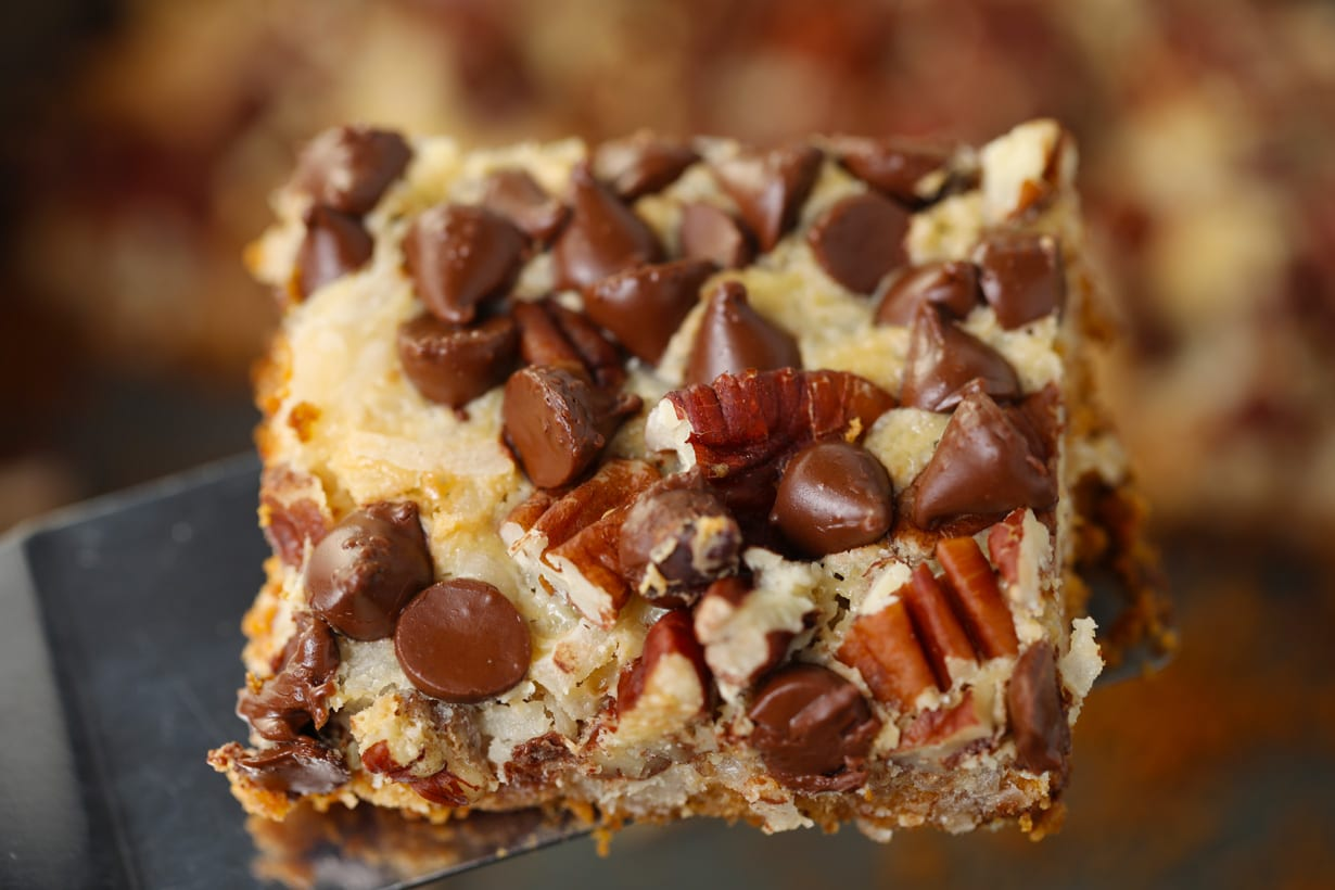 Easy Seven 7 Layer Magic Cookie Bars Recipe