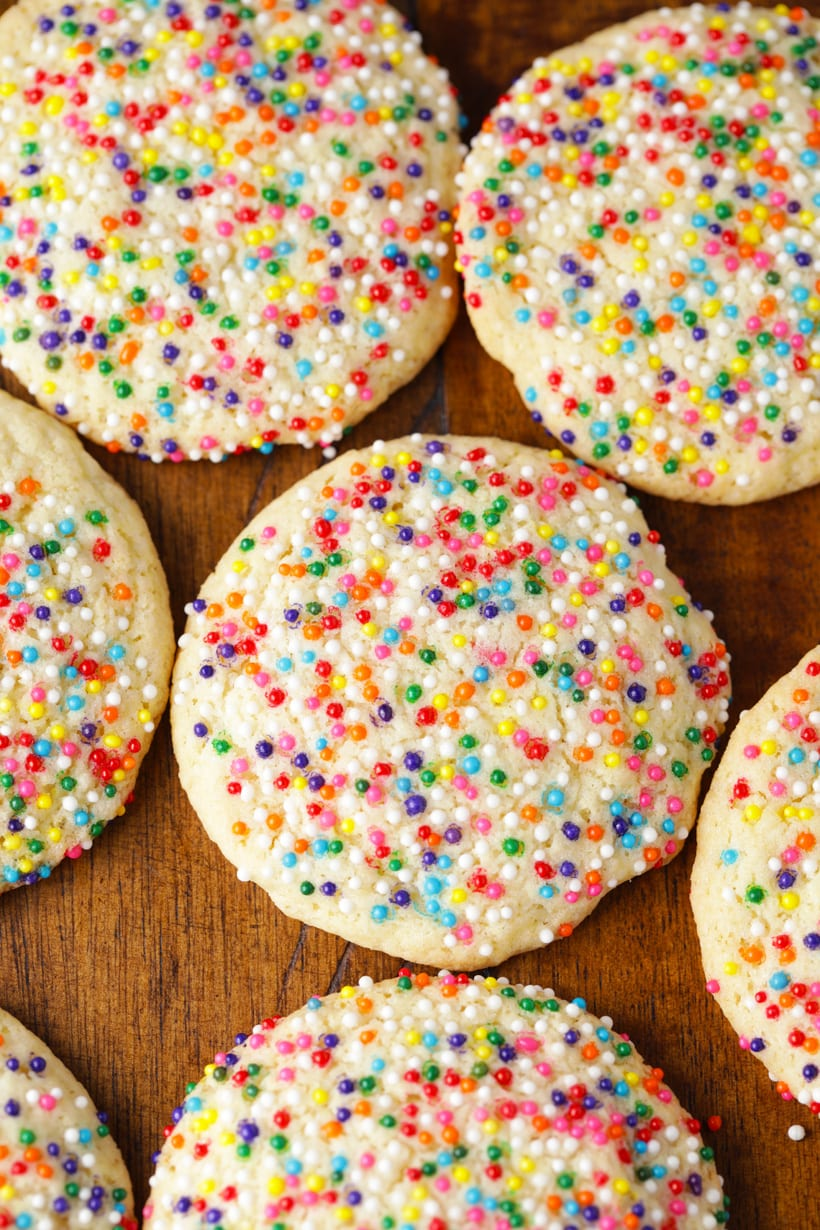 Copycat Publix sprinkles sugar cookies recipe