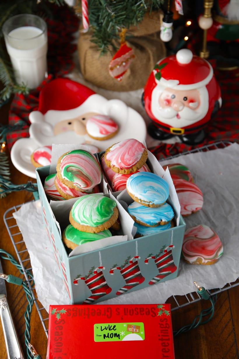 Gluten free gingerbread cookies for santa