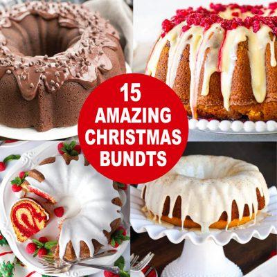 Amazing Christmas Bundt Cakes