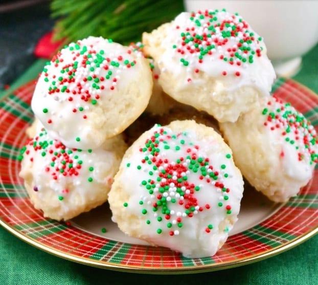 Italian Ricotta Holiday Cookies